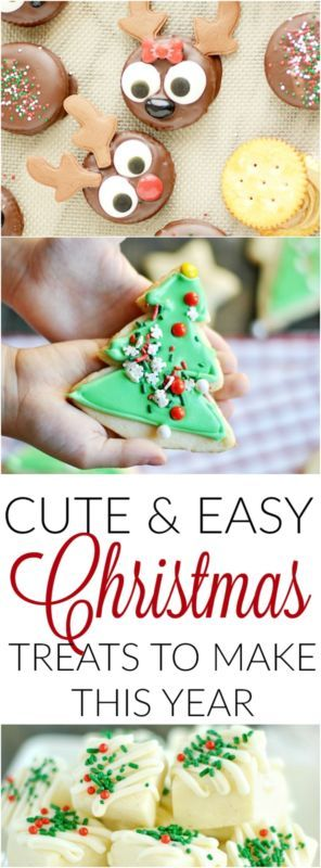 Cute and Easy Christmas Treats!!