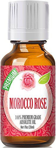 Rose Absolute Oil (Moroccan) (30ml) - Premium Grade by Healing Solutions Essential Oils 30ml / 1 (oz) Ounce ** More infor at the link of image  : rose essential oil