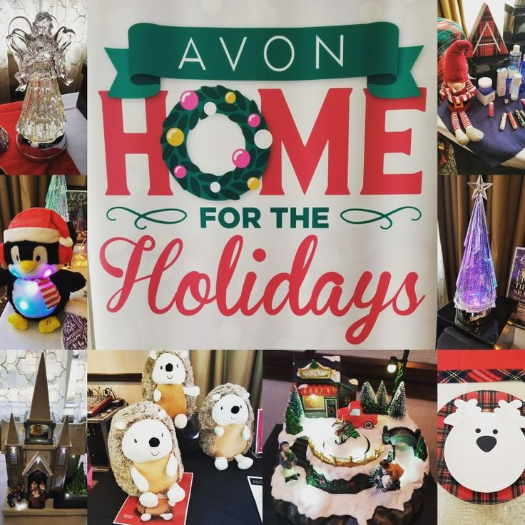 Avon Home for the Holidays Beautiful decor, Holiday