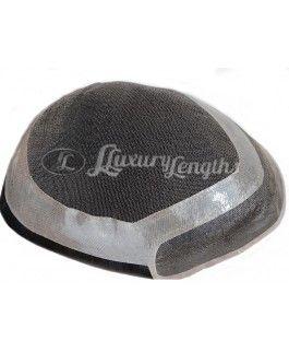 Men Toupee Lace - Royal   www.luxury-lengths.net