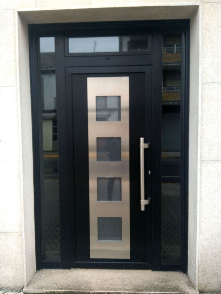 M s de 25 ideas incre bles sobre puertas aluminio en for Puertas modernas precios