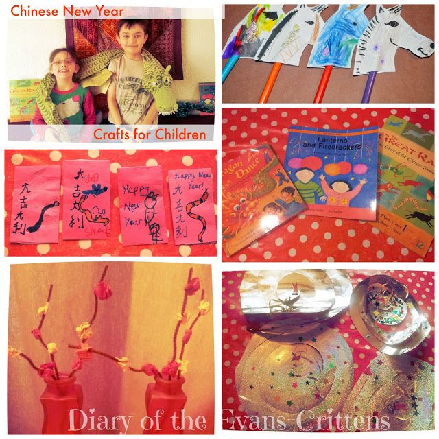 Chinese New Year Crafts for Children