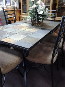 tile top table on pinterest slate tiles nesting tables and stone