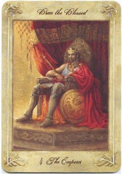 Emperor from the Llewellyn Tarot