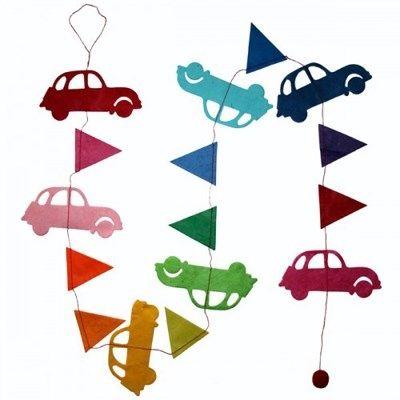 Hanger Auto's Regenboog
