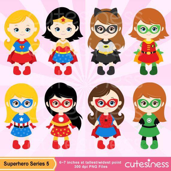 Imágenes Prediseñadas de Supergirl de Digital por Cutesiness