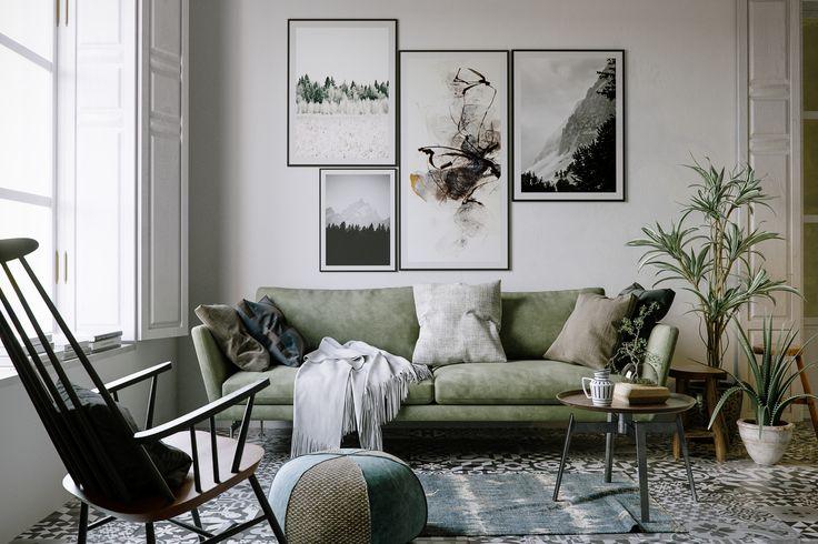 "Popatrz na ten projekt w @Behance: ""Italian Style Interior""…"