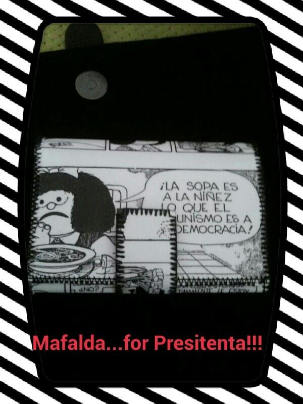 Mafalda Presidenta !!!