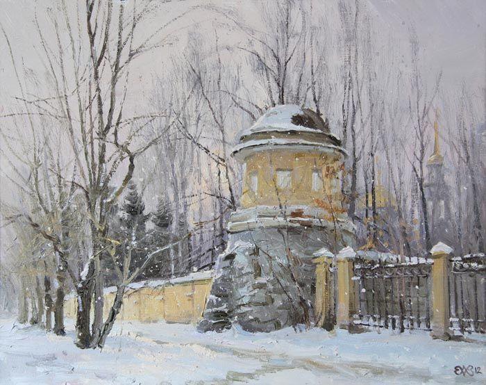 Efremov Alexey. Monastic tower