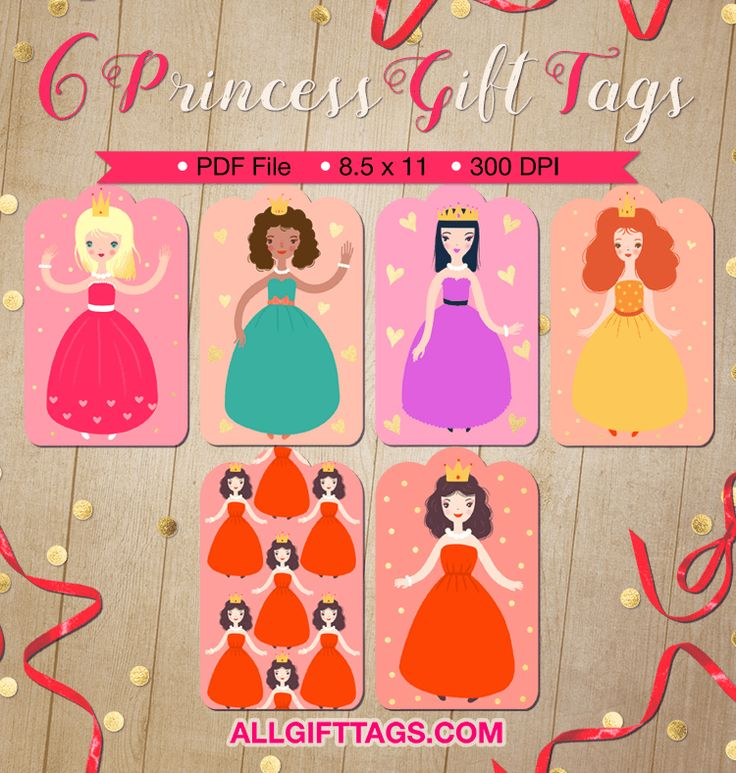 220 best gift tags at allgifttags images on pinterest pdf printable princess gift tags get them in pdf format at httpallgifttags negle Choice Image