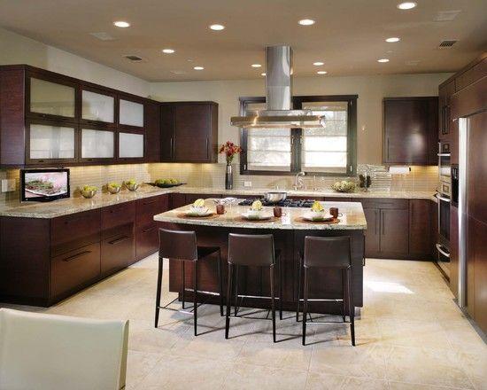 Kitchen Cooktop In Island Design