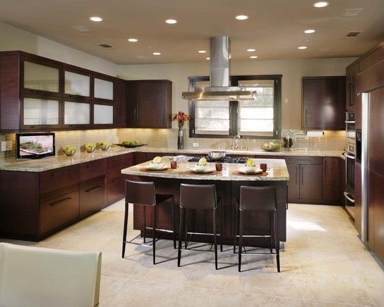 Kitchen Cooktop In Island Design Remodeling
