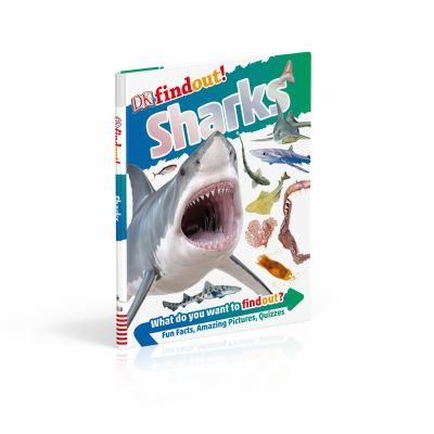 For any kid that can't get enough of shark facts, DKfindout! Sharks is packed with up-to-date information, fun quizzes and incredible images of all their favourite sharks including bullhead, carpet and angel sharks. Discover sharks from prehistoric times to matching sharks eggs to their parents.