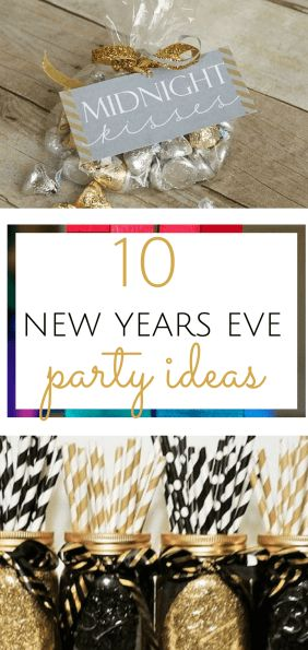 New Years Eve decorations for kids. New Years Eve, New Years Eve Decor, DIY New Years Eve, DIY Holiday, NYE decor