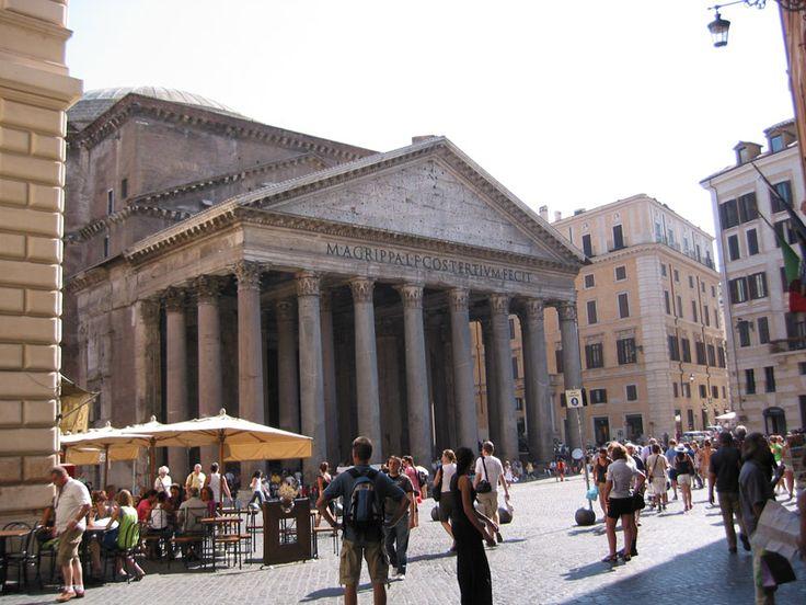Roma el Pantheon.