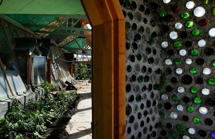 awesomeinside the recycled tire house  Arch green  Earthship Building a house Natural building