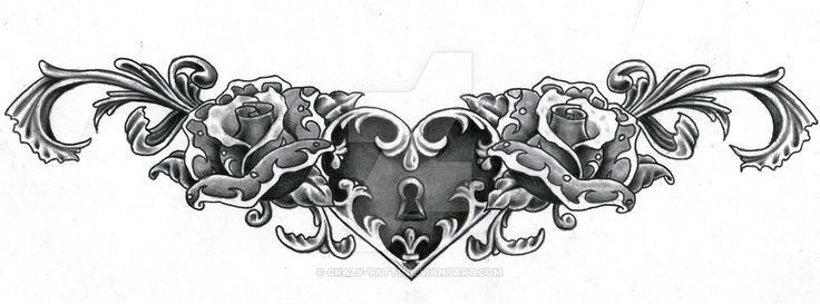 Lower Back Rose Tattoo Designs
