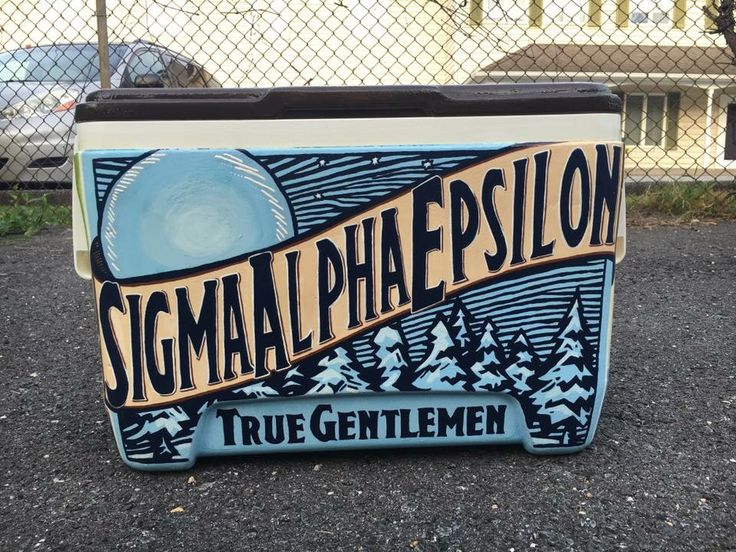 blue moon fraternity spe cooler