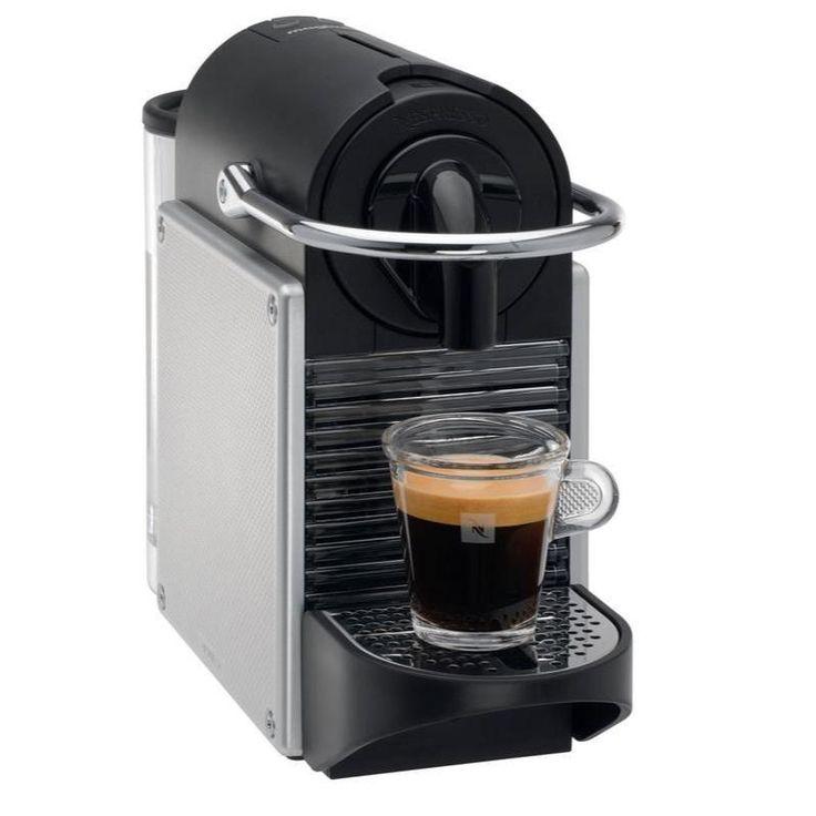 Magimix M110PIXIEMETALG  Met 19 bar pompdruk auto off automatische regeling watervolume en opklapbaar rooster voor de bereiding van koffierecepten met melk. Voor Espresso en Lungo. - 40% zuiniger dan een machine met energieklasse A - Opwarmen binnen 30 seconden  EUR 118.95  Meer informatie