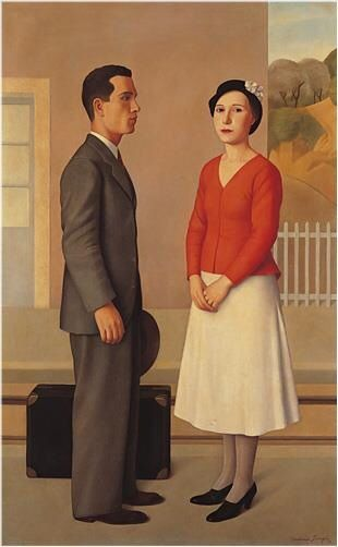 Antonio Donghi - l'Attesa (1933)
