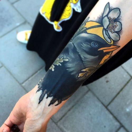 thievinggenius:  Tattoo done byAniela...