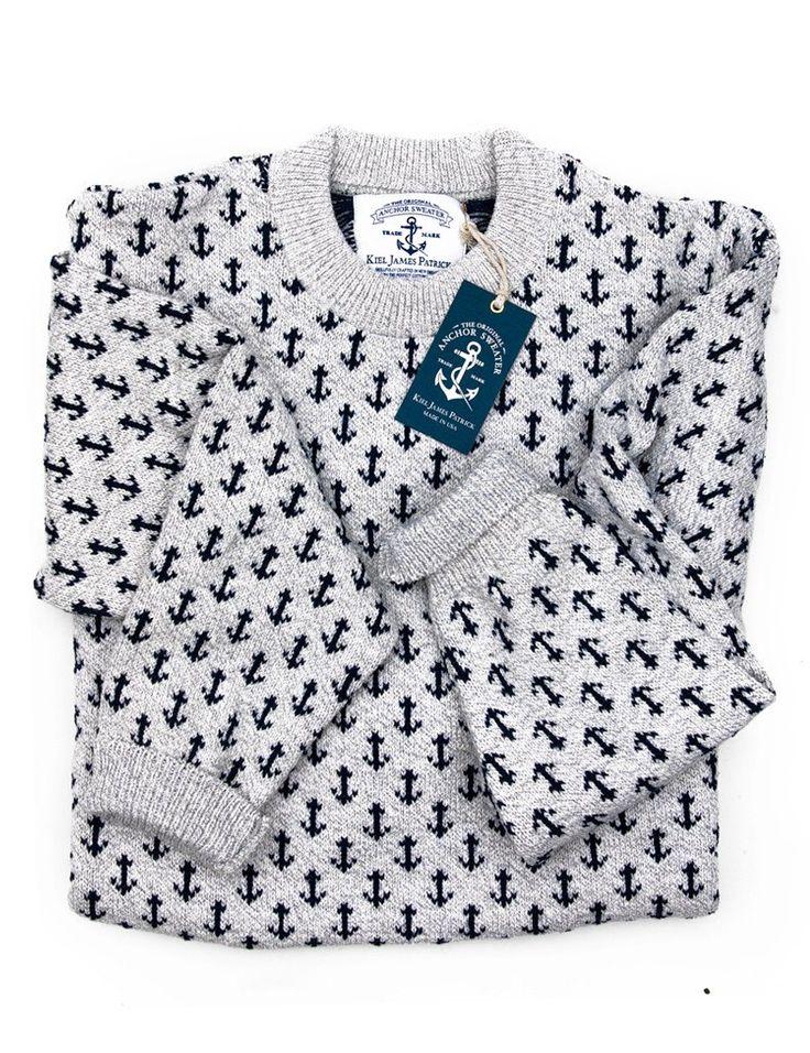The Original Anchor Sweater - Grey