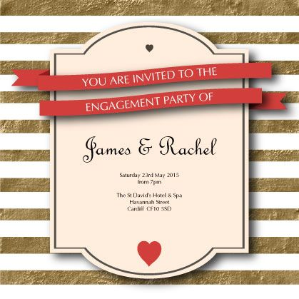 The 7 best images about Online Engagement Party Invitations on – Online Engagement Party Invitations