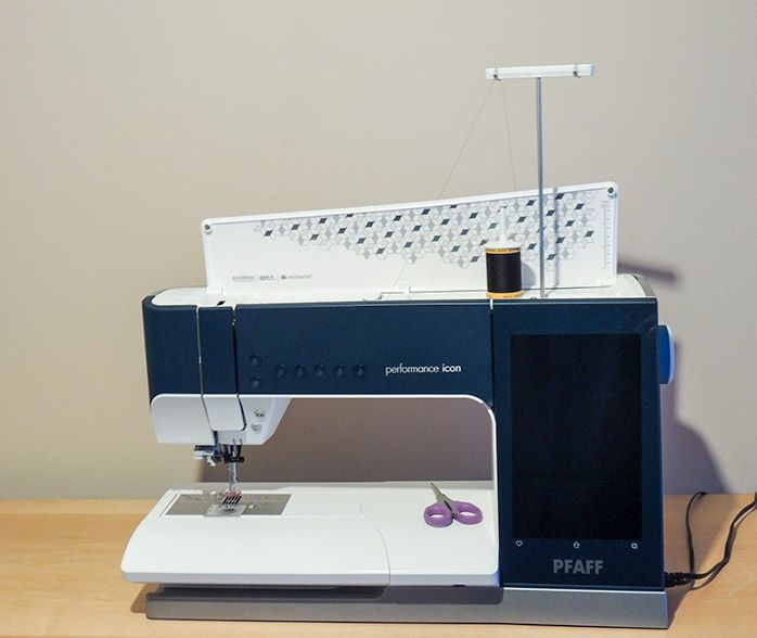 Getting Ready To Free Motion Quilt With The Pfaff Performance Icon Free Motion Quilting Pfaff Quilts