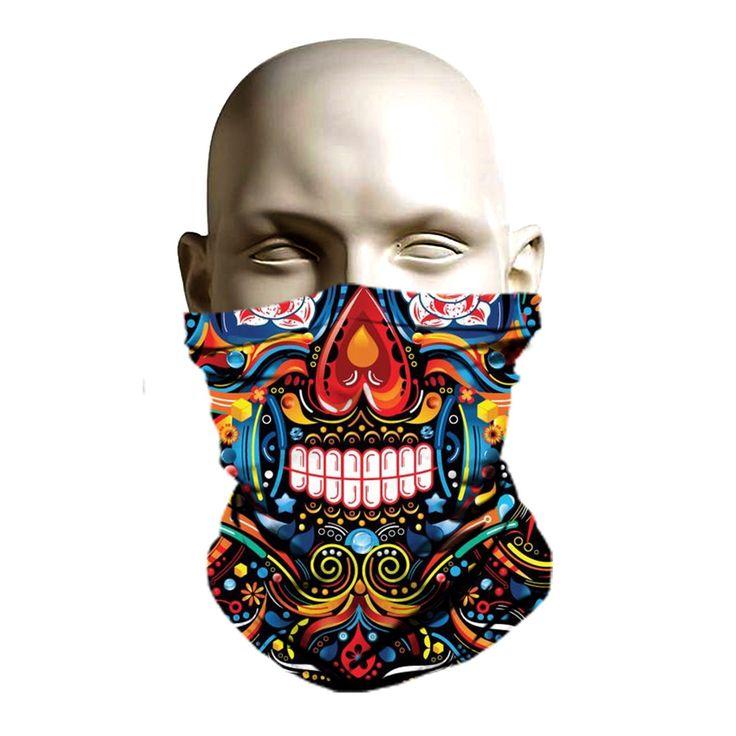 Ancient aztec Vintage ski mask