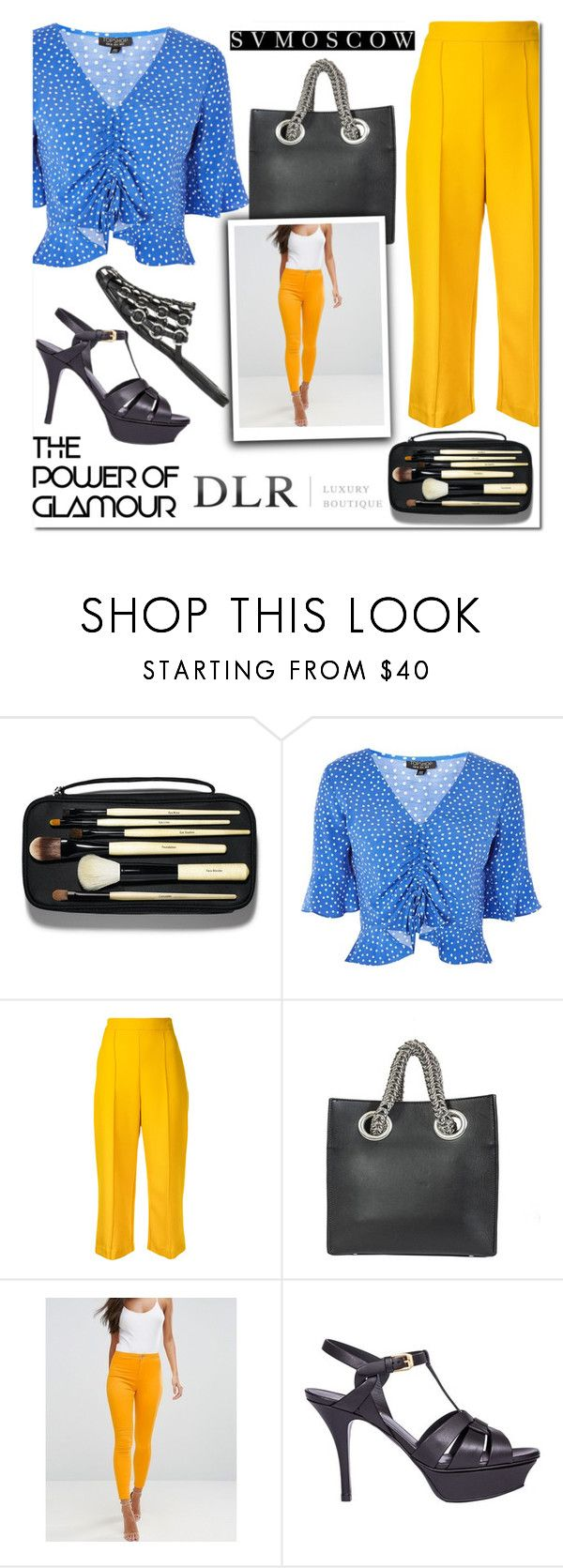 """""""Welcome promo code DLR15"""" by beenabloss ❤ liked on Polyvore featuring Bobbi Brown Cosmetics, Topshop, macgraw, Alexander Wang, ASOS and Yves Saint Laurent"""
