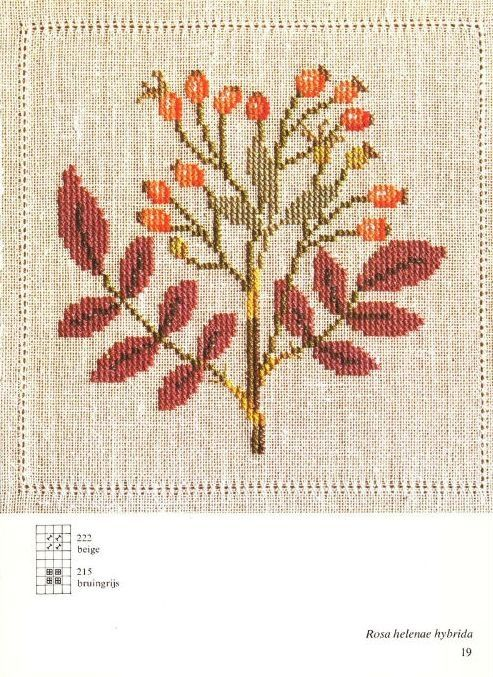 Gallery.ru / Фото #4 - Cross Stitch Pattern in Color - Mosca