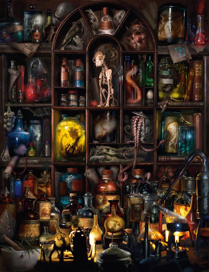 Excerpt: Magic Items Art | Dungeons & Dragons