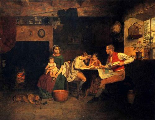 Answering The Emigrant's Letter - Collinson