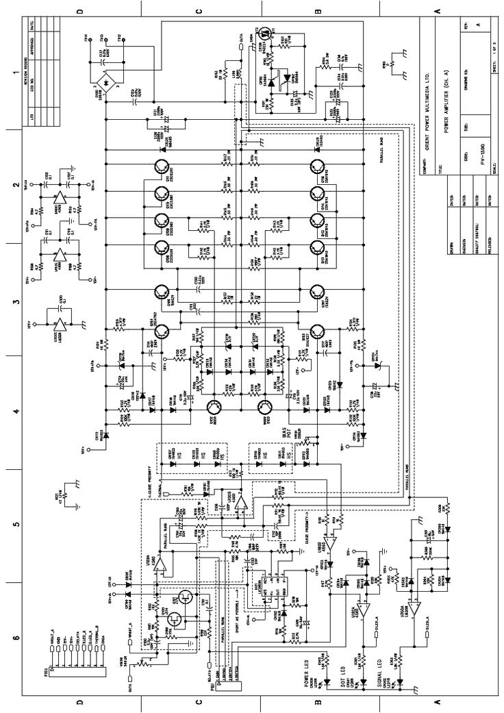 1000w Audio Amplifier Circuit Diagrams Click On The Link For Free Download This Picture Is A