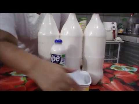 SUPER DETERGENTE DE COCO GRICERINADO CASEIRO. - YouTube