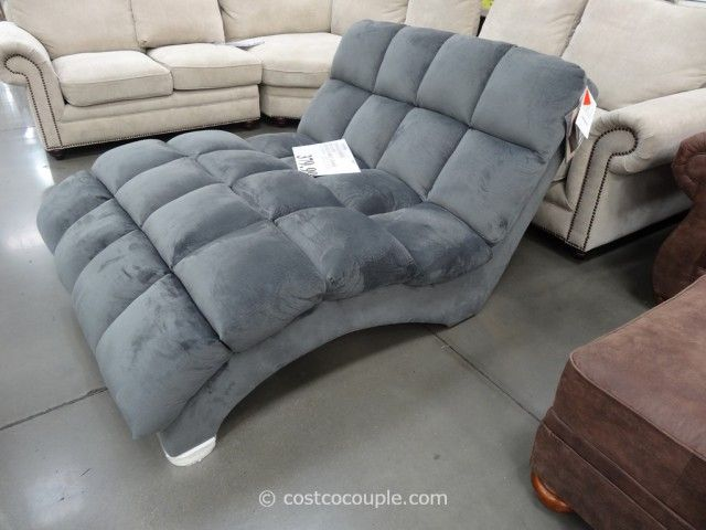 Emerald Home Boylston Double Fabric Chaise Costco Other
