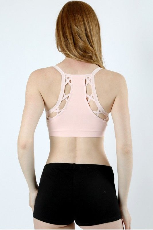 Phoenix Sports Bra (Dusty Coral)