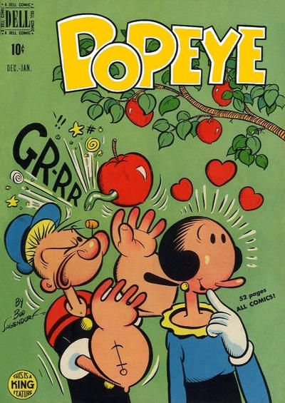 Cover for Popeye (1948 series) #10