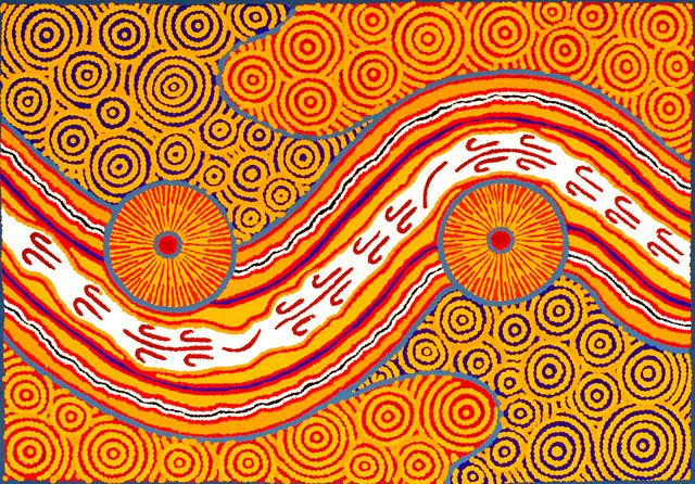 aboriginal art | ... to study Aboriginal art while in Melbourne.Folk art for the win