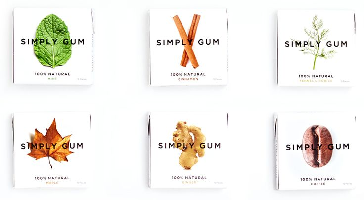 Simply Gum - The Only Natural Chewing Gum
