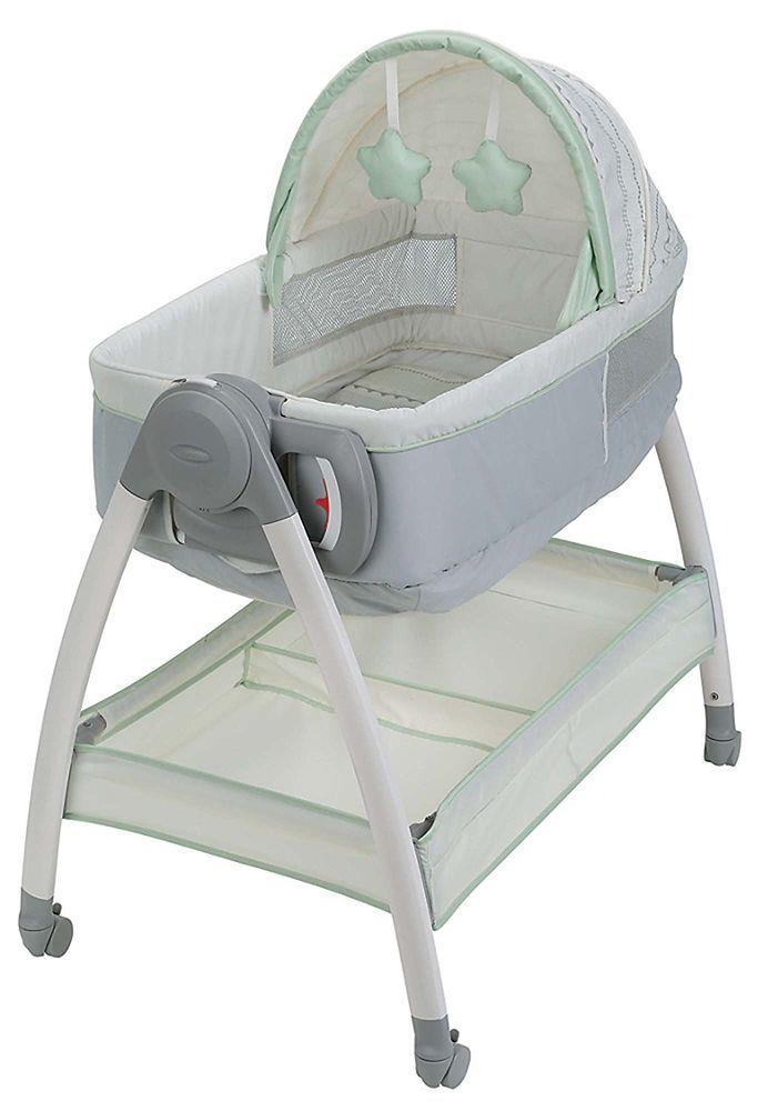 Graco Dream Suite Infant Baby Bassinet Nursery Portable Sheets