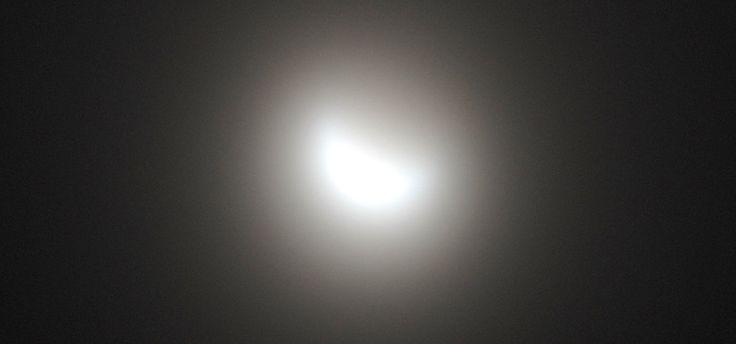 Solförmörkelse fångad med Raynox HDP-7700ES