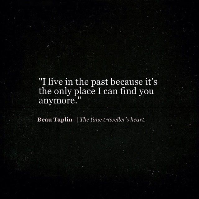 Beau Taplin | The time traveller's heart.