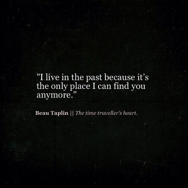 Beau Taplin | The time traveller's heart.