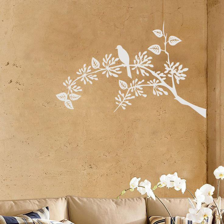 Little Bird Sitting Tree Branch   Vinyl Wall Decals. Love This So Much In  Our Part 30