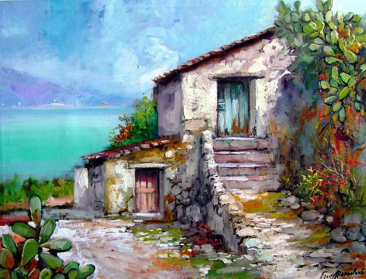 Paesaggio Mediterraneo @GIGARTE.com
