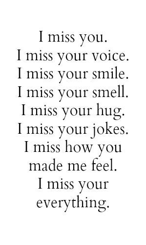 25 Missing You Quotes                                                                                                                                                     More