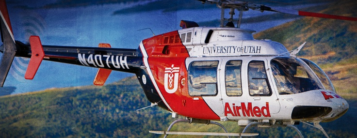 Air Med's Bell Helicopter