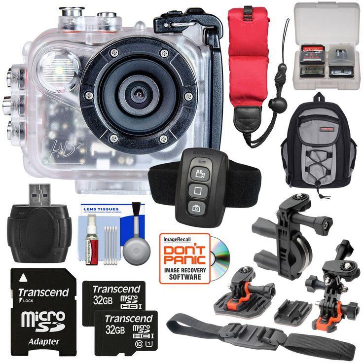 Intova HD2 Marine Grade HD Video Action Camera Camcorder with Video Light Kit