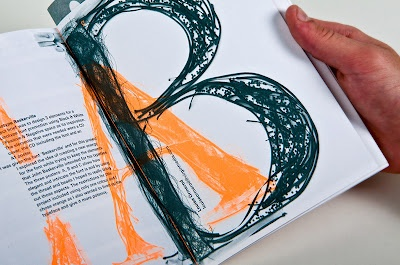 Editorial- I love the texture of the letters